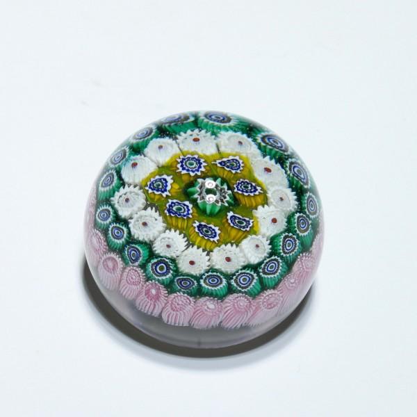 Millefiori Paperweight - Ø 6,1 cm