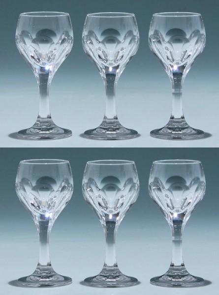 6 Nachtmann Bleikristall Likörgläser SONJA