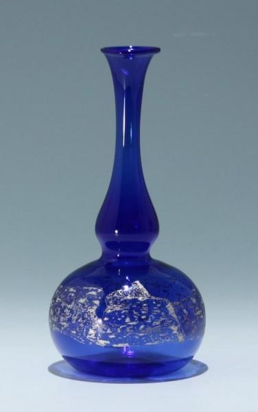Lampengeblasene Vase 1980/90er Jahre 20 cm