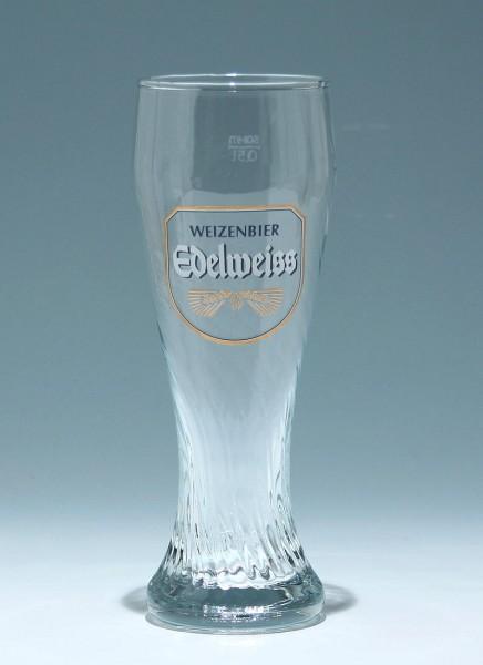 Weizenbierglas WEIZENBIER EDELWEISS - 0,5 L.