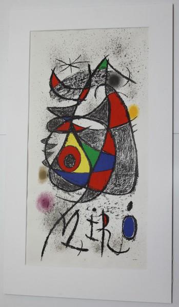 Joan Miro - Farblithografie PEINTURES, GOUACHES, DESSINS - Arte Paris