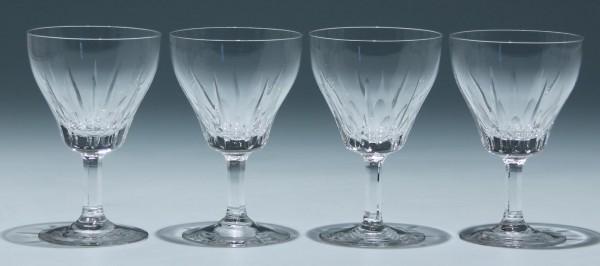 4 Spiegelau Kelchgläser Form wie DIPLOMAT 1950er Jahre 11,3 cm