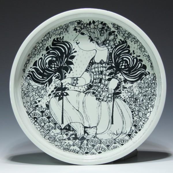 NYMÖLLE DENMARK Keramik Schale 3030/323 Entwurf Björn Wiinblad-Copy