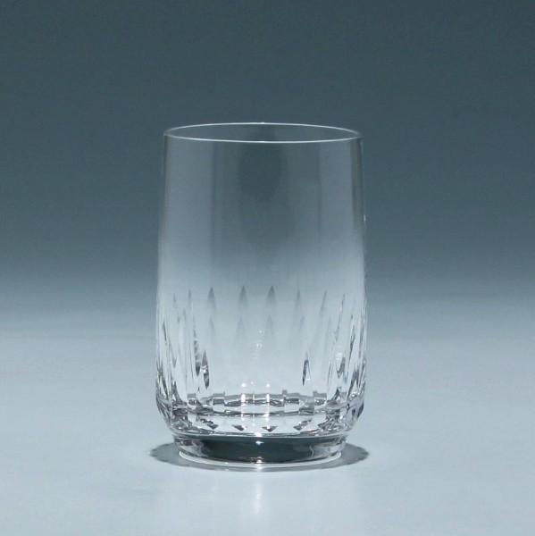 Wasserglas Kristallglashütte Gistl in Frauenau 1960er Jahre