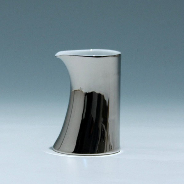 Rosenthal Vase / Sahnegießer FREE SPIRIT STARS Platin - 10,5 cm