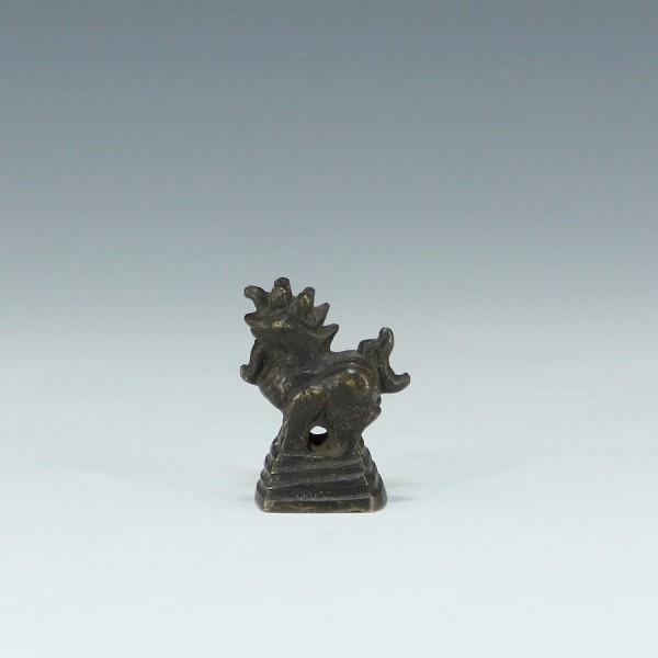 Altes Bronze Opiumgewicht 53 Gr. - Burma / Myanmar