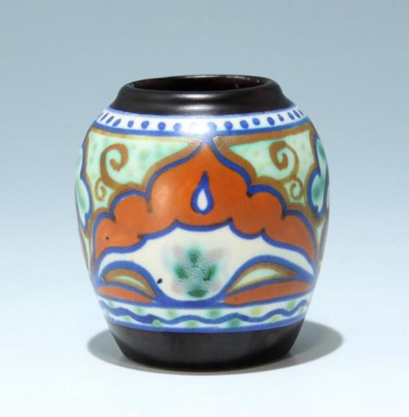 Kleine Art Deco Keramikvase GOUDA Holland