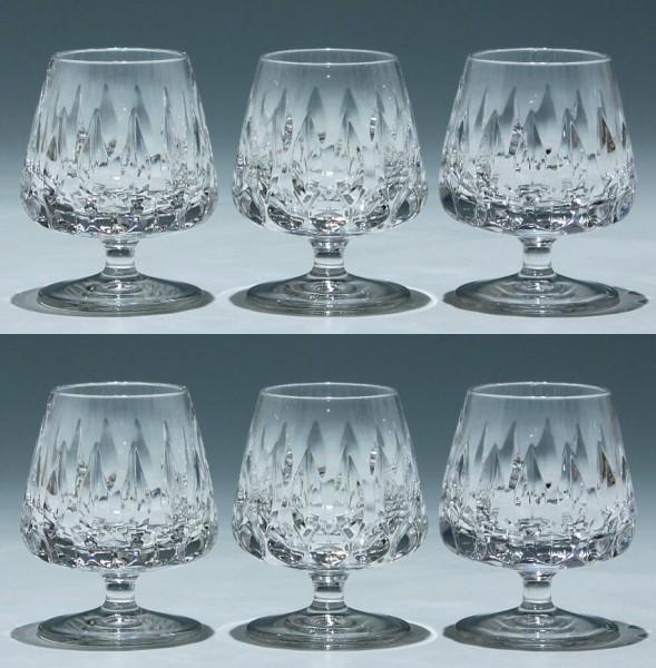 6 Nachtmann Bleikristall Cognacgläser CORA