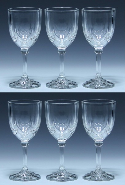 6 Cristal d`Arques Luminarc Weingläser CONVENTION - 16 cm