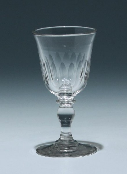 Kelchglas Frankreich 19. Jh. - Höhe 11,4 cm