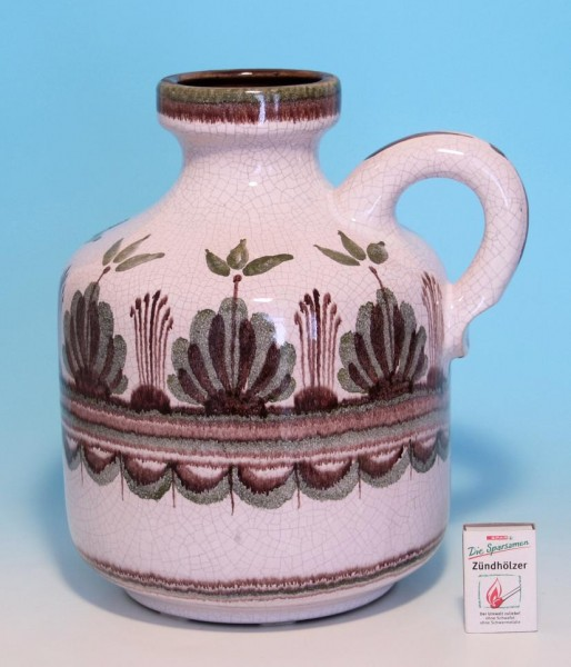 Große Keramik Kanne 1960er Jahre 1013/3