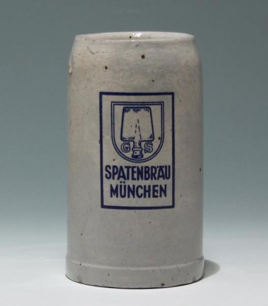 Bierkrug SPATENBRÄU MÜNCHEN 1 L.