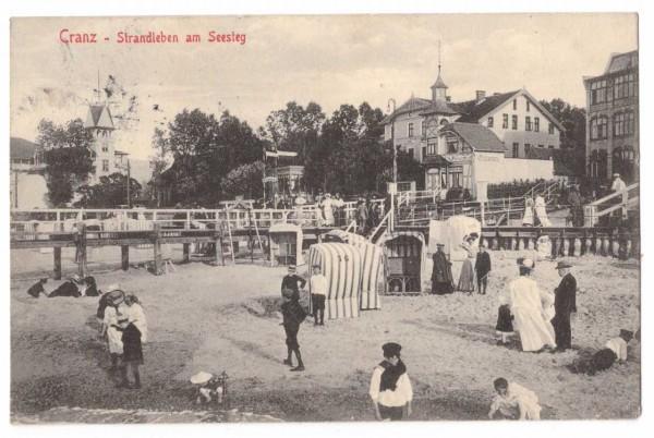 Ansichtskarte CRANZ - Ostpreußen - gelaufen 1909 #ak0032