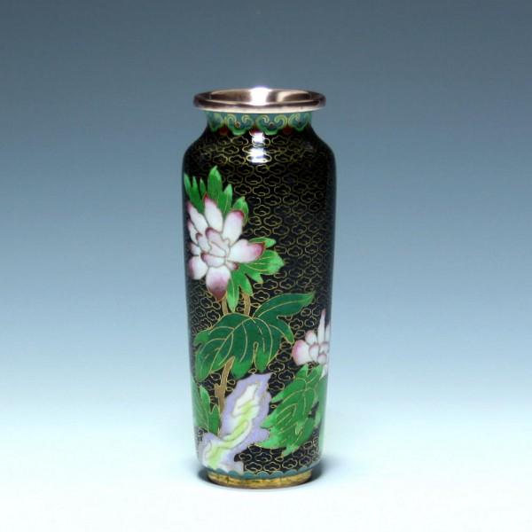 Cloisonné Vase - China 20. Jh. - 12,9 cm