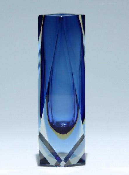 Murano Sommerso Glas Vase circa 1960 - 1,1 kg