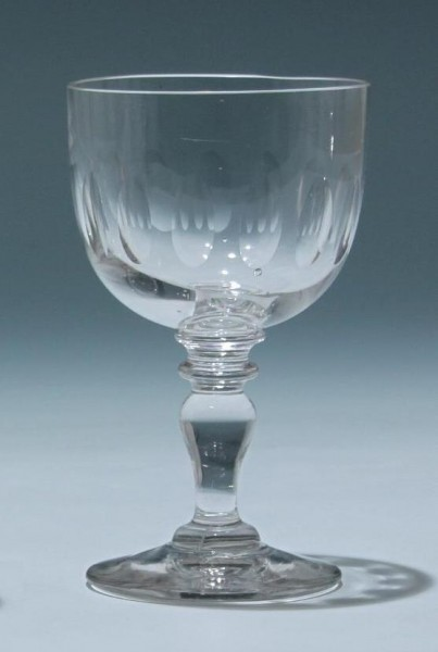 Kelchglas Frankreich circa 1900 - Höhe 14,3 cm