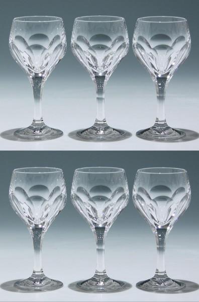 6 Nachtmann Bleikristall Kelchgläser SONJA 15,4 cm