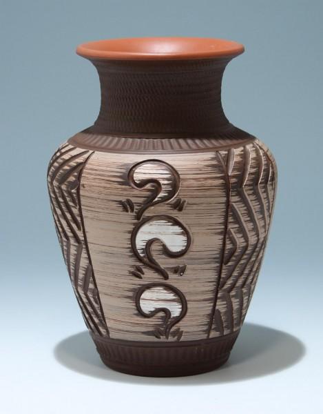 Große Keramikvase 1950er Jahre