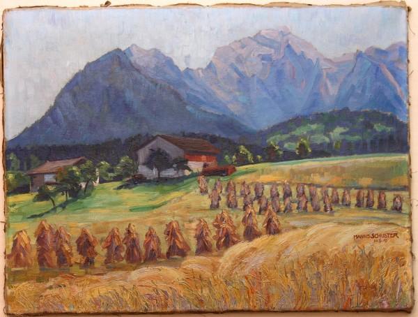 Ölgemälde BERCHTESGADEN von Hanns Schuster (1886 - 1951)