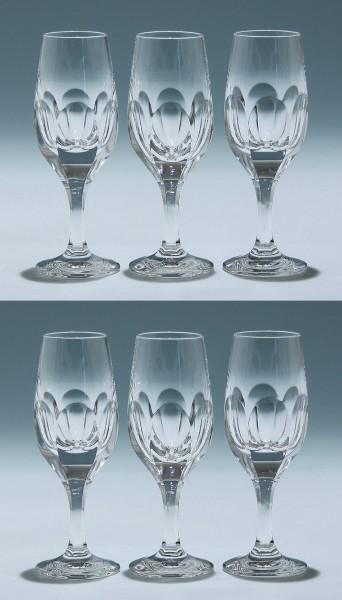 6 Nachtmann Bleikristall Sherrygläser SONJA 15,3 cm