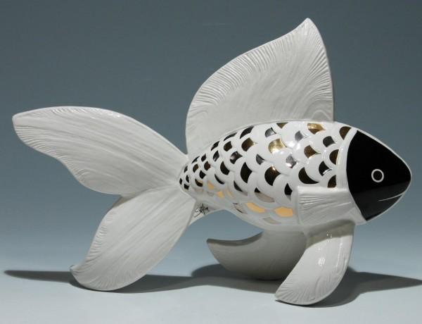 Goebel Paradiso Fisch - Entwurf Georges Selim 1980er Jahre