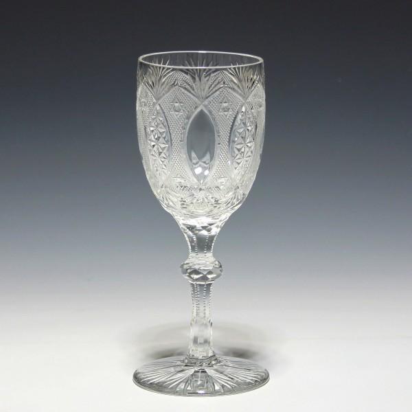 Bleikristall Weinglas - Frankreich / Belgien um 1900