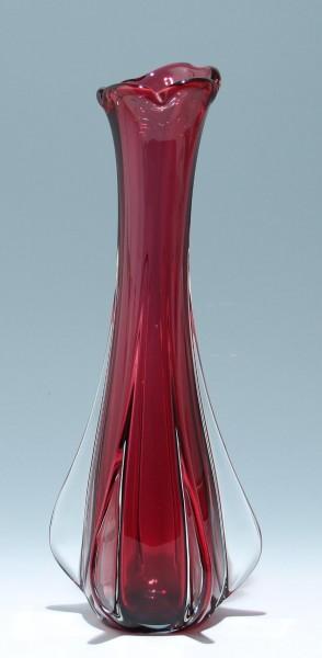 Hohe Murano Glas Vase 1960er Jahre - 44 cm