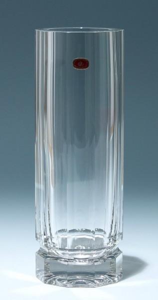 Schwere Bleikristallvase Skrdlovice - Tschechoslovakei 1980er Jahre - 1,8 kg