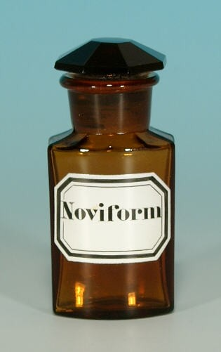 Apothekenflasche Noviform - 10,5 cm