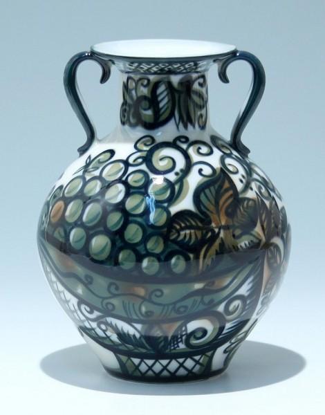 Handbemalte Lomonosov Porzellanvase