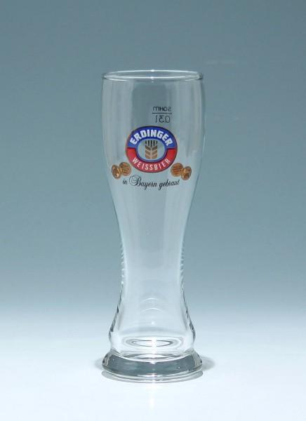 Weizenbierglas ERDINGER WEISSBIER 0,3 L.
