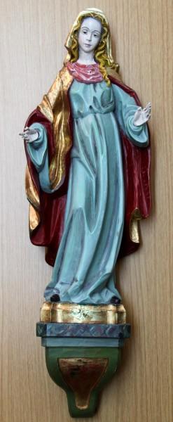 Holzfigur MARIA ? von Adolf Thum Oberammergau - 66 cm