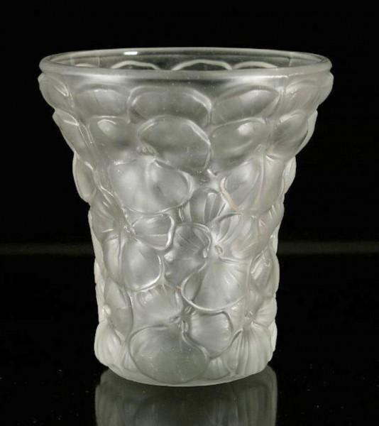Barolac - Rosice Glassworks Vase STIEFMÜTTERCHEN