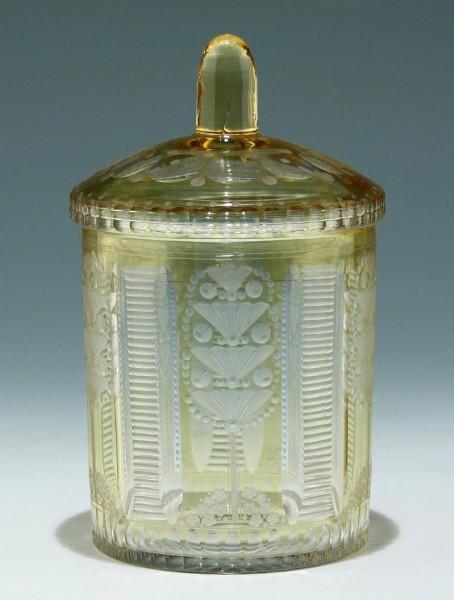 Glasdose Johann Oertel & Co. Haida um 1920
