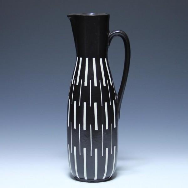 Hohe Keramik Kanne Piesche & Reif in Kamenz 1950er Jahre
