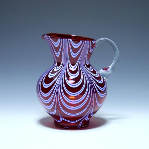 Pop Art Murano Glas Kanne Karaffe 1970er Jahre-Copy