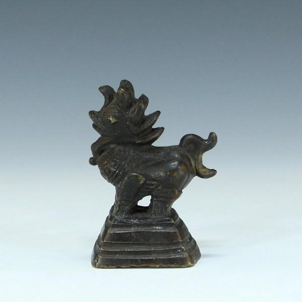 Altes Bronze Opiumgewicht 239 Gr. - Burma / Myanmar