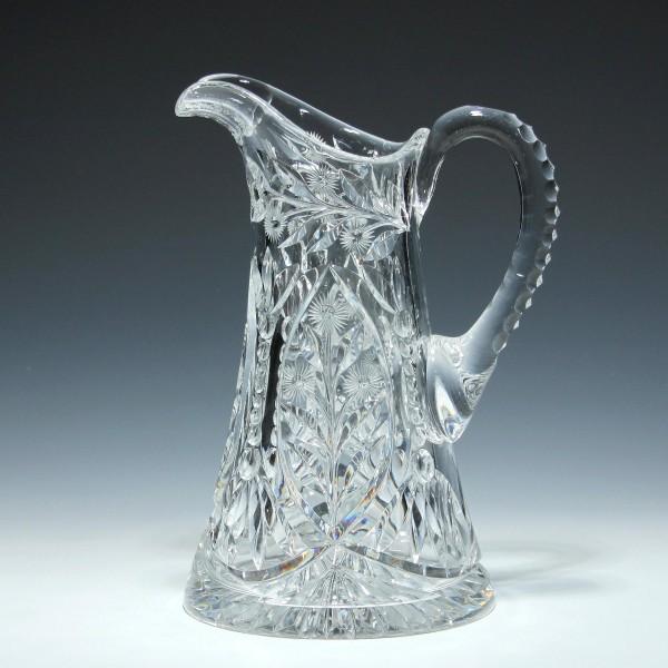 Art Deco Bleikristallkanne Karaffe - Mitte 20. Jh. - 2,1 kg-Copy