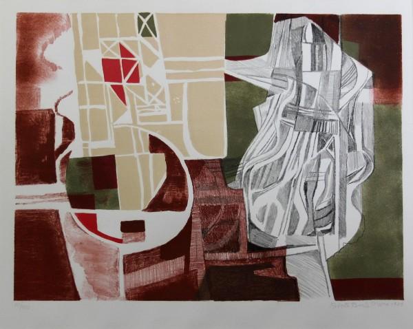 ROBERTO BURLE MARX (1909-1994) Lithografie TUNICA INCONSUTIL 1984