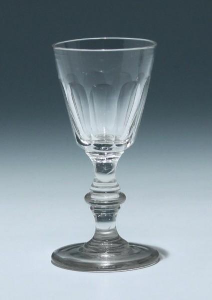 Kelchglas Frankreich 19. Jh. - Höhe 12,2 cm