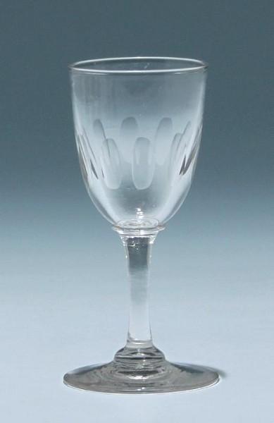Kelchglas - Frankreich circa 1900 - Höhe 11 cm