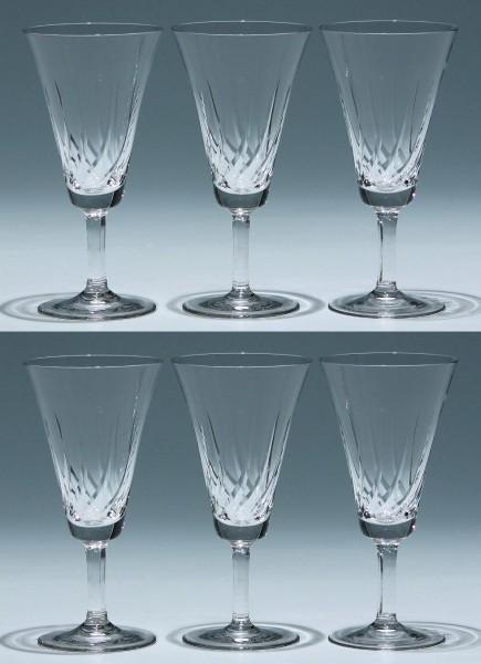 6 Spiegelau Sektgläser formgleich mit AROSA