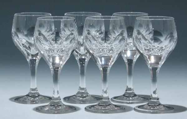 6 Nachtmann Bleikristall Kelchgläser SONJA 13,8 cm