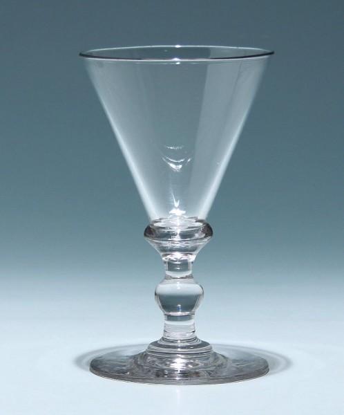 Spitzkelchglas / Trichterpokal Weinglas - 19. Jh.