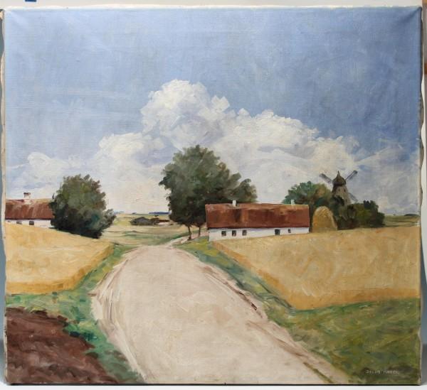 Landschaftsgemälde signiert JACOB MEYER (1895-1971)