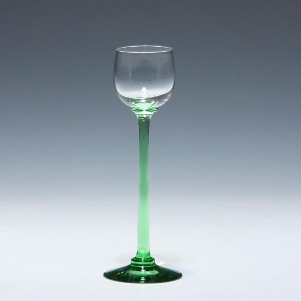Jugendstil Likörglas Rheinische Glashütten AG Köln-Ehrenfeld circa 1910 - 15,1 cm