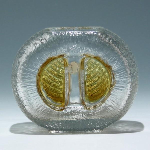 Walther-Glas Vase 1970er Jahre