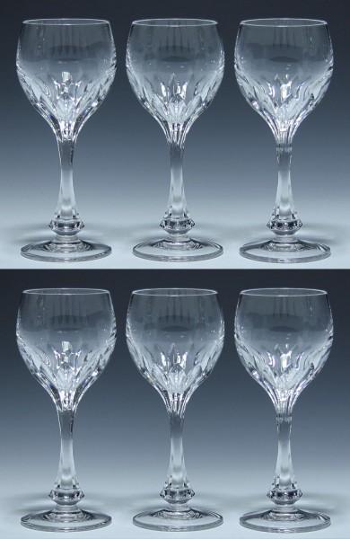 6 Nachtmann Bleikristall Weingläser ISABELLA 18 cm