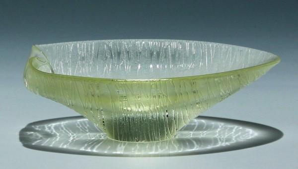 Geätzte Bleikristall Schale Bohemia Cristal (ZBS)