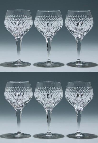 6 Nachtmann Bleikristall Kelchgläser ANTOINETTE - 16,1 cm